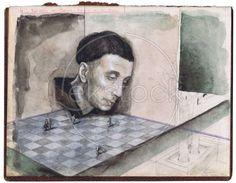 Goeiedag meneer van der Weyden. Gideon Kiefer.