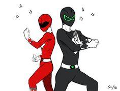 Miraculous Ladybug power rangers- 2