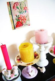 Silly Old Suitcase: DIY-Tutorial: a very easy candle light holder...