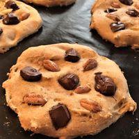 Salut à toi ! :)   Aujourd'hui je te partage ma recette favorite de cookies légers et sains. Non non ce ne sont pas ceux à la banane et aux flocons d'avoine, je te laisse découvrir la recette...