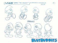 Grouchy_Smurf_Character_Model_Sheet.jpg 400×300 pixels