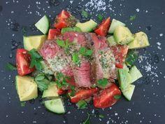 Steak-Salat mit Chimichurri