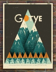 Gotye concert poster.