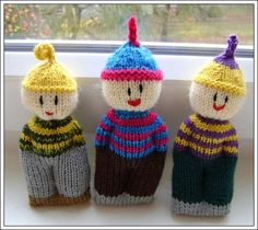 Knitted Comfort Dolls - Free Pattern : http://www.squidoo.com/african-knit-dolls