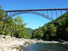 New River Gorge Bridge, Virginia, USA