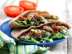 Diabetic Oven-Roasted Falafel Recipe from Diabetic Gourmet Magazine, plus many more recipes for a healthy diabetic diet. Lebanese Recipes, Jewish Recipes, Israeli Recipes, Syrian Recipes, Chef Recipes, Dinner Recipes, Cooking Recipes, Kosher Recipes, Cooking Ideas