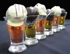 Chef's Market Chocolate Candy Shot Drinks