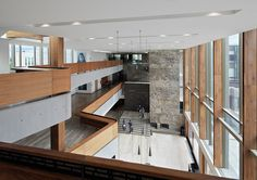 Richard Ivey Building, Ivey Business School at Western University, London. Hariri Pontarini Architects (HPA). Photo Nikolas Koeig.