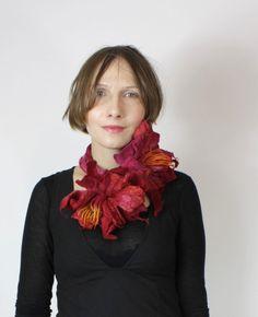 Necklace | Kate Ramsey.  Felt.