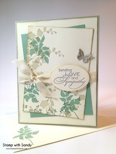 "By Sandy. Stamps from ""World of Dreams"" by Stampin' Up."