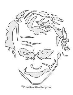 Joker Stencil 01