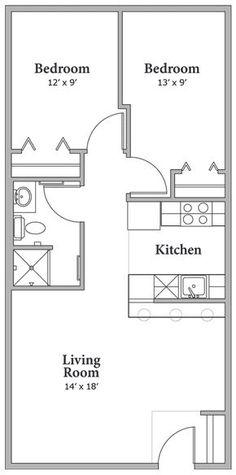 plan appartement garage