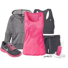 Workout Wear by jewhite76, via Polyvore