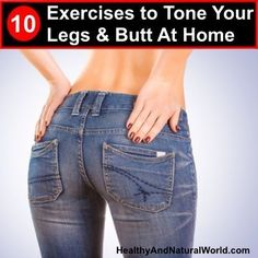 DIY Face Masks  : 10 Exercises to Tone Your Legs and Butt At Home (With Illustrations)