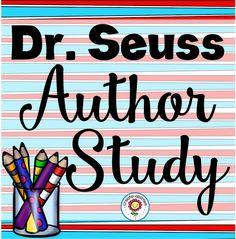 Dr. Seuss Author Study by Create-abilities