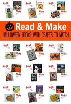 Halloween Books and Crafts To Match - No Time For Flash Cards
