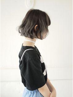 ネフ(NeF) アッシュグレーのグラデーションカラー☆