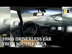 Back to the future: South Korean professor's self-driving car was decades ahead of the curve - YouTube