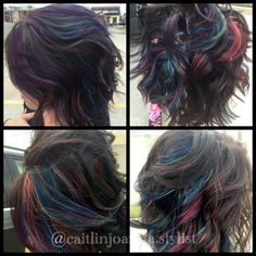 Come over to the dark side - it's the easiest way to get galaxy hair! 703-327-9408 or visit http://eclipsashburn.com
