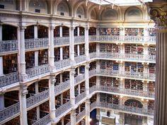 George Peabody Kütüphanesi, Baltimore, ABD (1878'de açılmış)