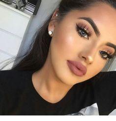 Make up Tutorial Flawless Makeup, Gorgeous Makeup, Glam Makeup, Love Makeup, Skin Makeup, Makeup Inspo, Makeup Inspiration, Makeup Style, Easy Makeup