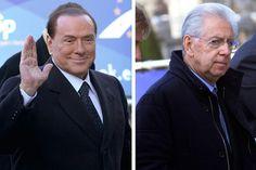 l primer ministro italiano, Mario Monti, ha aparecido por sorpresa en la cumbre del Partido Popular Europeo (PPE) en la que también está presente el líder del Pueblo de la Libertad (PDL) y candidato a las elecciones italianas, Silvio Berlusconi.