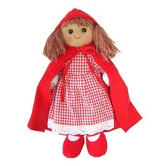 Powell Craft Red Riding Hood Doll  Ragdoll  Makes a great stocking filler or christmas gift by ToyCentre ** Check this awesome product by going to the link at the image.