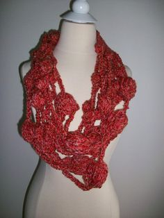 InfinityFashion unique scarf by PIPPADUSHES on Etsy, $28.00
