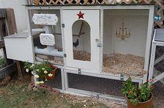 Chandelier in a chicken coop??! - A Bird and a Bean