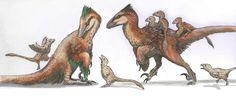 A Dinosaur A Day (Deinonychus antirrhopus)