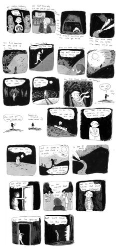 A comic about leaving church, by Noelle Stevenson.