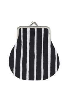 Who would feel fierce with this striped purse?! | fashion stripes | fashion accessories with stripes |