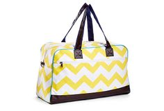 Weekender Bag, Yellow on OneKingsLane.com