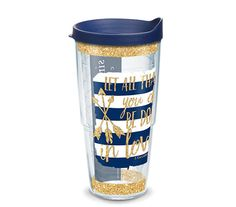 Simply Southern Quote Sparkle 24oz Tervis