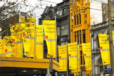 #melbourne #yellow