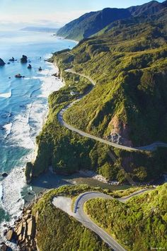 I've done this ! // California's Pacific Coast Highway ~ an exhilarating drive, 123 mile route along central California coast takes approx 5 hours at leisurely pace. Among the most scenic drives in America. Includes Big Sur Coast and San Luis Obispo Coast Byway. National Geographic