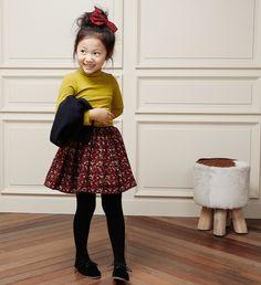 [The Jany] Children's Vanessa Floral Skirt