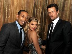 Stacy Ferguson Josh Duhamel and Ludacris at event of New Year's Eve - New Years Eve İdeas Fergie Ferguson, Stacy Ferguson, Hollywood Stars, Fergie And Josh Duhamel, Millionaire Dating, Ludacris, Star Wars, Camera Shy, Evolution T Shirt