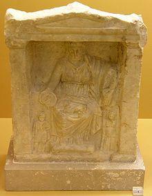 Cybèle (en grec ancien Κυϐέλη / Kybélê signifiant « gardienne des savoirs ») est une divinité d'origine phrygienne (connue également sous le nom d'Agdistis en Phrygie), importée en Grèce et à Rome, personnifiant la nature sauvage. Elle est présentée comme « Magna Mater », Grande Déesse, Déesse Mère ou encore Mère des dieux. Cybèle est sans doute l'une des plus grandes déesses de l'Antiquité au Proche-Orient.