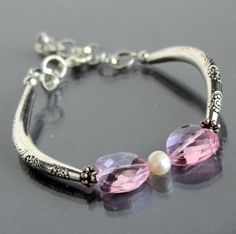 Hey, I found this really awesome Etsy listing at http://www.etsy.com/listing/119323030/pink-crystal-hearts-bracelet-handmade