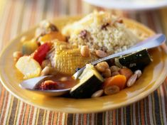 Couscous marocain poulet Regional, Batch Cooking, Cereal, Grains, Rice, Chicken, Meat, Breakfast, Recipes