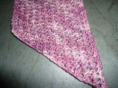 Easy lace mesh scarf for beginners Odd number of stitches Row 1; k2, *yo, k2tog, rep from * to last st, k  Row 2; k to end