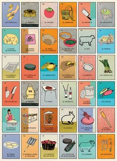 This set of Lotería cards from La Tacopedia is the best.