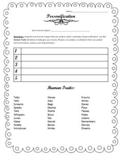 tips and activity ideas to help students write poems.