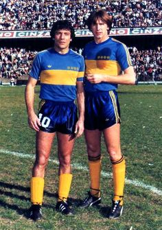 Miguel Ángel Brindisi and Ricardo Gareca