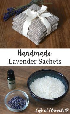 Using a few simple supplies, you can create lovely Handmade Lavender Sachets as gifts. They're great for use in linen cupboards, drawers and closets.