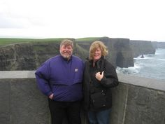 Ireland 10 - Me & Tricia, Cliffs of Moher