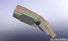En la USB fabrican el primer exoesqueleto del país