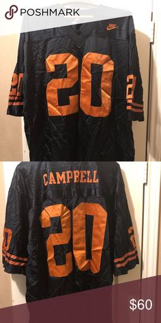 Men's Nike NFL Football Jersey Earl Campbell Texas Longhorns ...