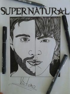Supernatural deam & sam
